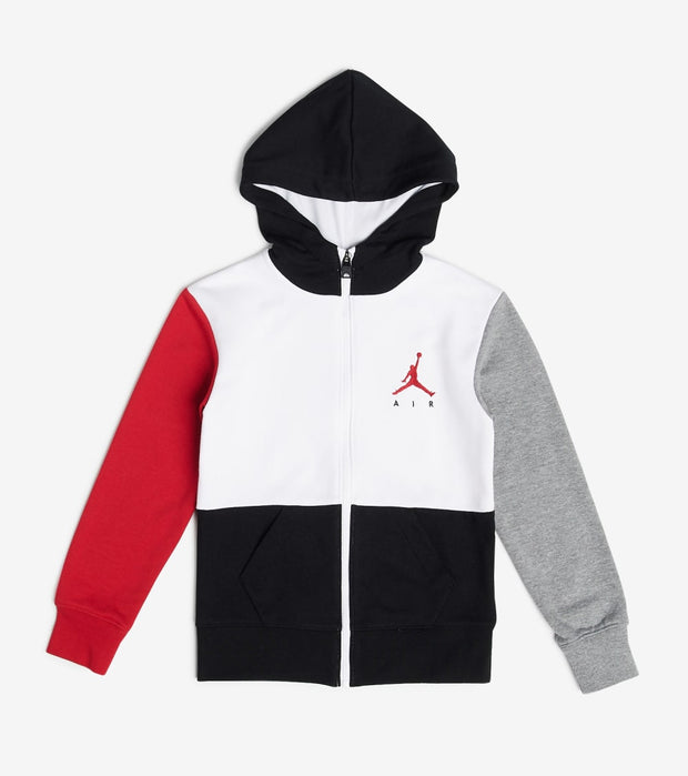 Jordan  Boys Jumpman Air Full Zip Hoodie  White - 95A286-001 | Jimmy Jazz