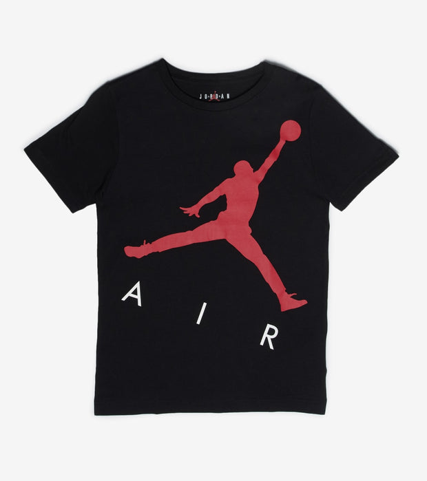 Jordan  Boys Jumpman Big Air Tee  Black - 95A351-023 | Jimmy Jazz