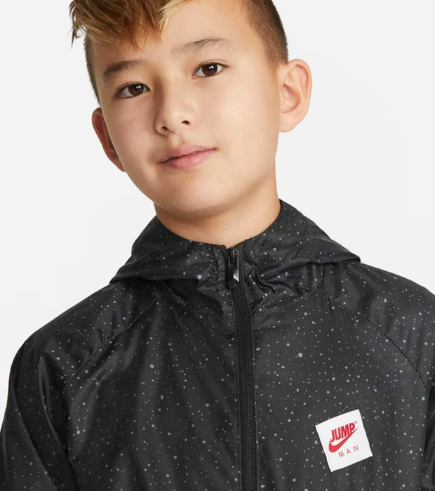 Jordan  Boys All Over Print Windbreaker  Red - 95A469-023 | Jimmy Jazz