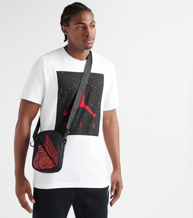 Jordan  Wings Festival Bag  Black - 9A0198-023 | Jimmy Jazz