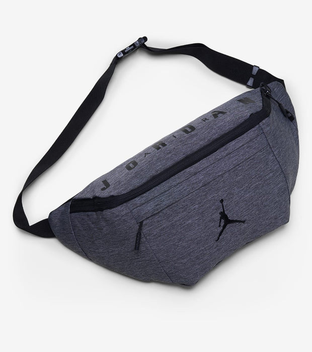 Jordan  Oversized Jumpman Crossbody Bag  Grey - 9A0242-GEH | Jimmy Jazz