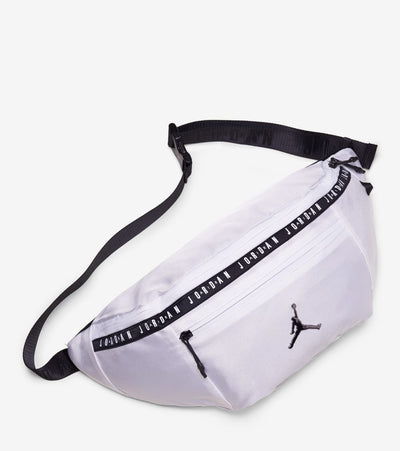Jordan  Oversized Taping Crossbody Bag  White - 9A0245-001 | Jimmy Jazz