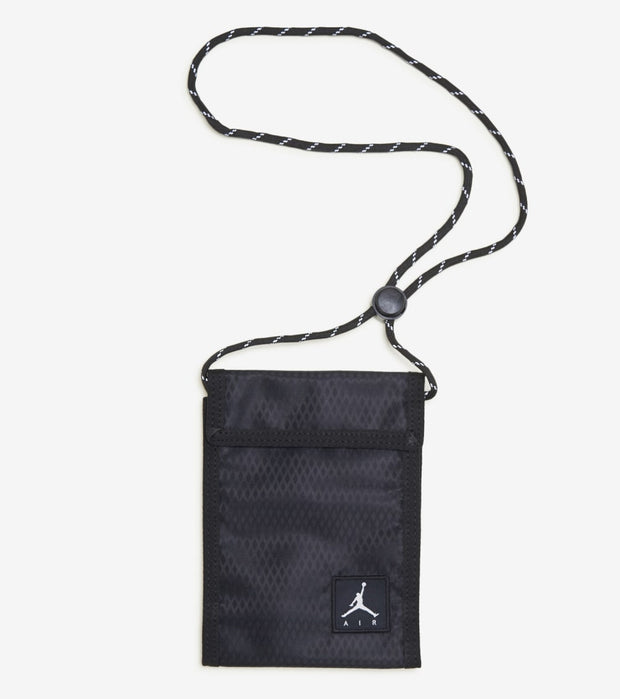 Jordan  Trifold Pouch   Black - 9A0325-023 | Jimmy Jazz