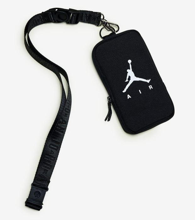 Jordan  Air Lanyard Pouch   Black - 9A0400-023 | Jimmy Jazz