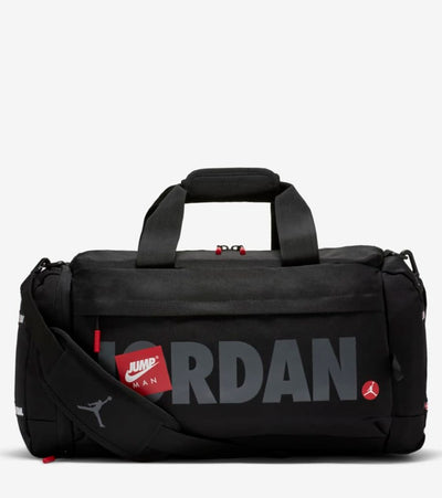Jordan  Jumpman Duffel Bag  Black - 9A0508-023 | Jimmy Jazz