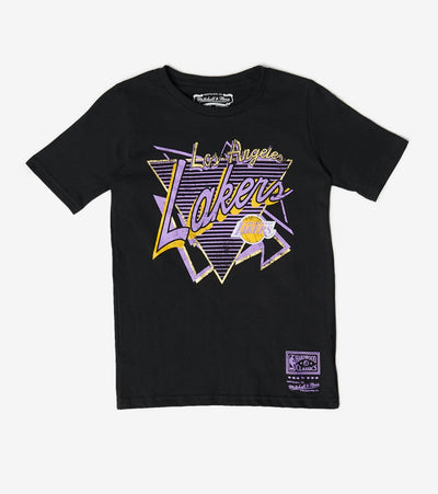 Mitchell And Ness  Boys No Limit Lakers Tee  Black - 9N2B7BME7N01LAK-B01 | Jimmy Jazz