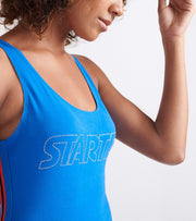 Starter  Side Tape Bodysuit  Blue - 9S80055-COB | Jimmy Jazz