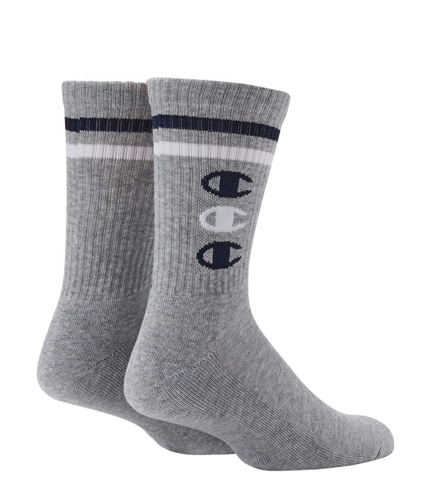 Champion  Life Repeat C Crew Sock  Grey - A2225-906 | Jimmy Jazz