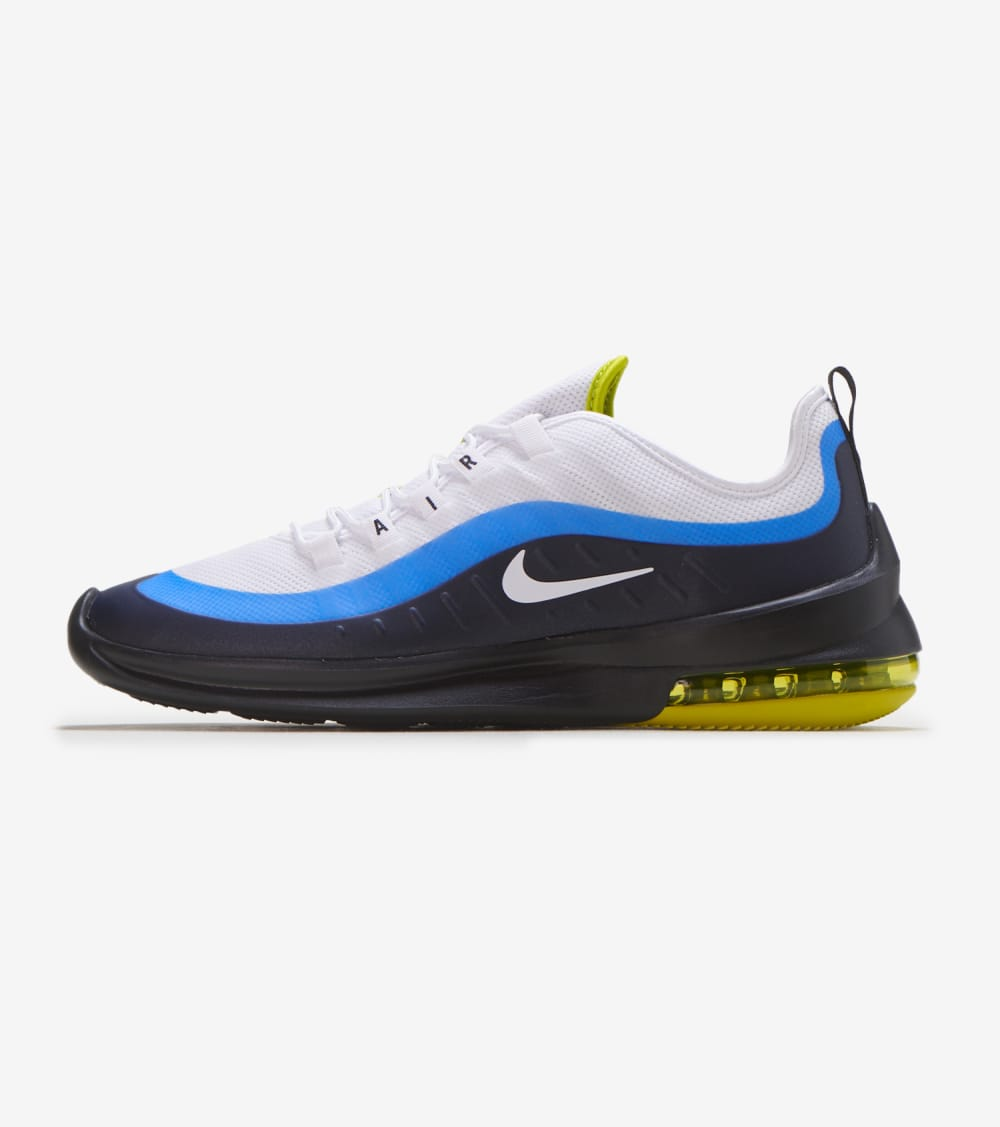 Nike Air Max Axis Shoes in White/Royal