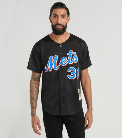Mitchell And Ness  New York Mets 2000 Mike Piazza Jersey  Black - ABBFLG18016-NYM | Aractidf