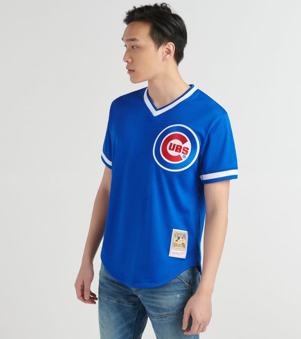 Mitchell And Ness  87 Chicago Cubs Andre Dawson Jersey  Blue - ABPJGS18006-CHC | Jimmy Jazz