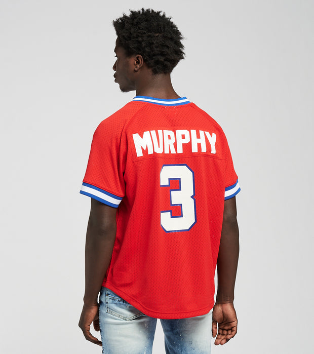 Mitchell And Ness  Dale Murphy 1980 Braves BP Jersey  Red - ABPJGS18316-SCR | Jimmy Jazz