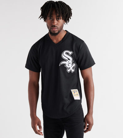 Mitchell And Ness  Bo Jackson 1993 White Sox BP Jersey  Black - ABPJGS18324-BLK | Jimmy Jazz