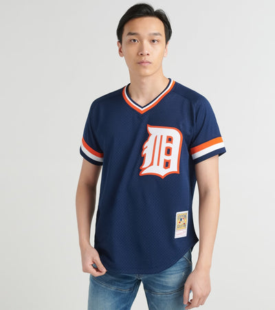 Mitchell And Ness  84 Detroit Tigers Kirk Gibson Jersey  Navy - ABPJGS18330-NVY | Jimmy Jazz