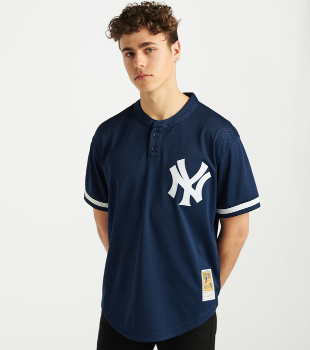 Mitchell And Ness  95 Yankees Bernie Williams Jersey  Navy - ABPJGS18341-NYY | Jimmy Jazz