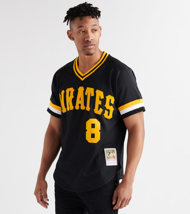 Mitchell And Ness  Willie Stargell 1982 Pirates BP Jersey  Black - ABPJGS18349-BLK | Jimmy Jazz