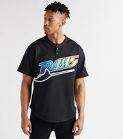 Mitchell And Ness  Wade Boggs 1998 Rays BP Jersey  Black - ABPJGS18360-BLK | Jimmy Jazz