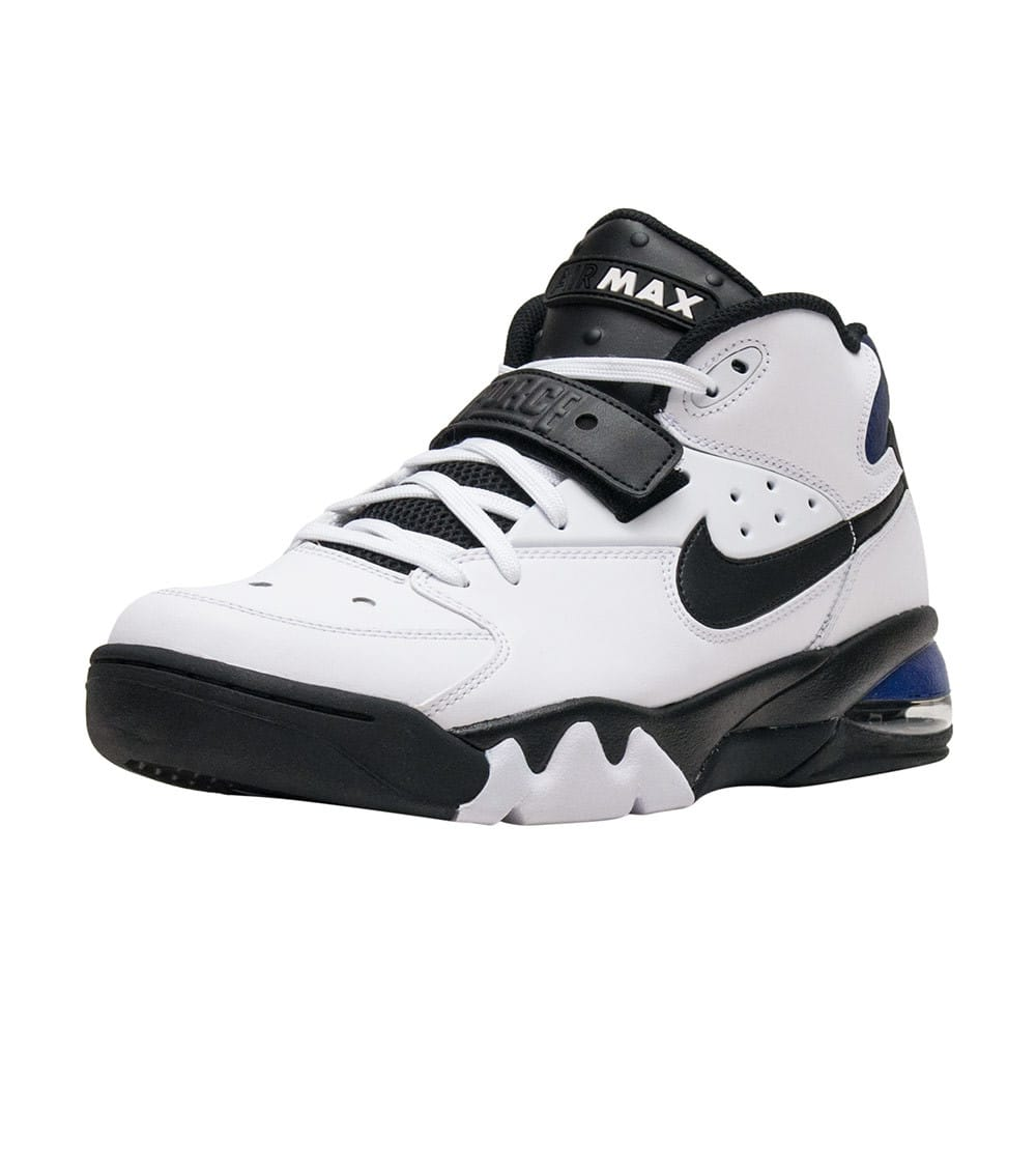 Nike AIR FORCE MAX Shoes in White/Black