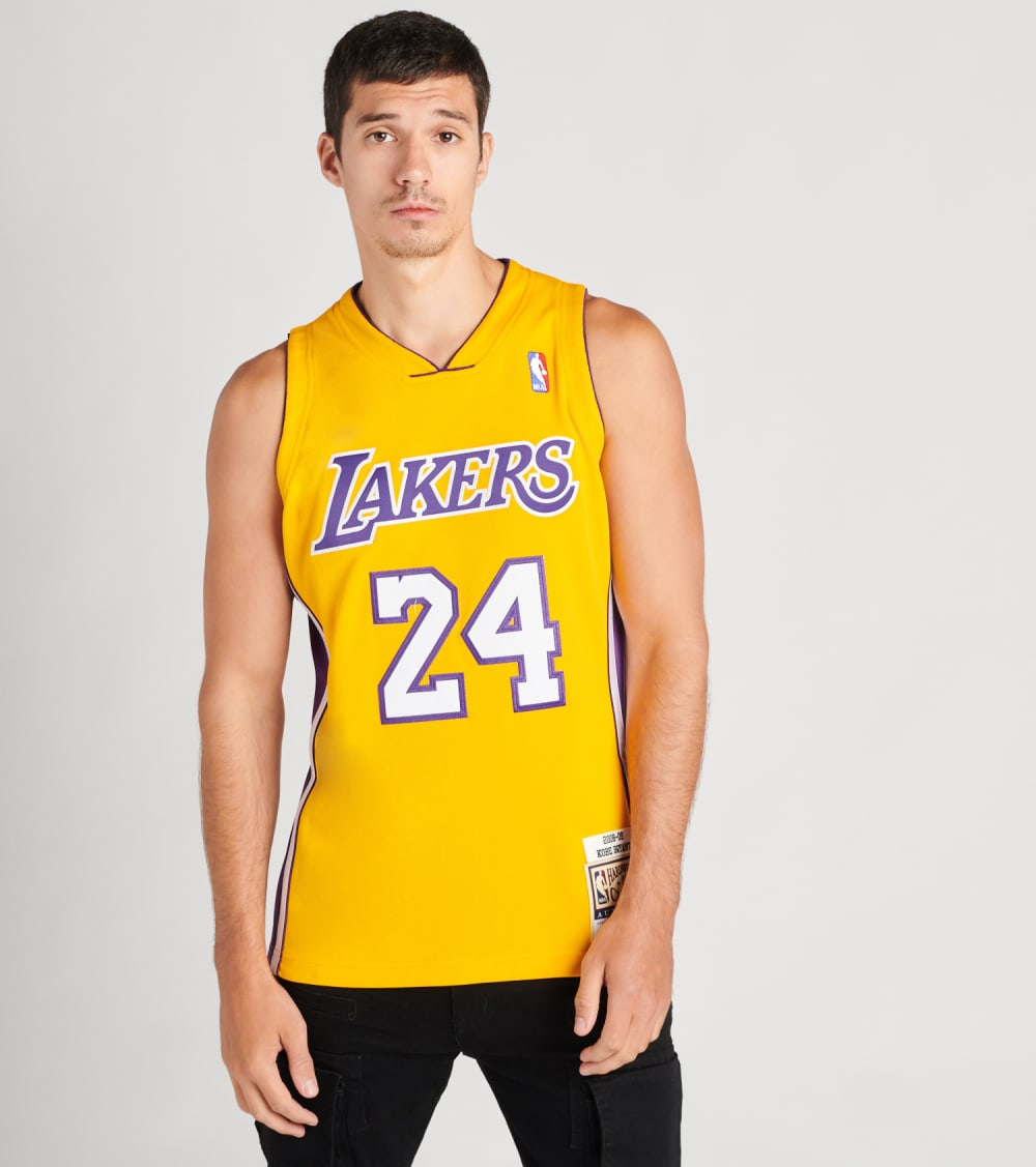 Mitchell And Ness  Los Angeles Lakes Kobe Bryant Jersey  Gold - AJY4CP19009LAL-LTGD | Jimmy Jazz