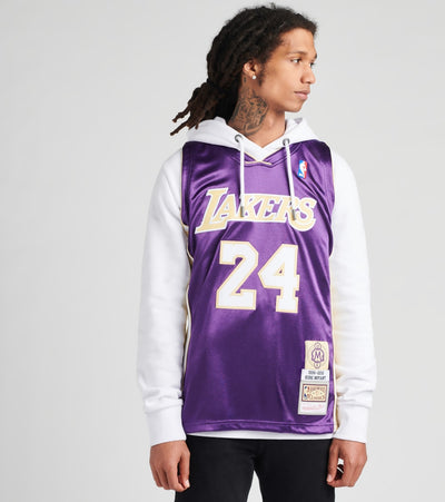 Mitchell And Ness  Authentic Jersey Lakers 96 Kobe Bryant  Purple - AJY4CP20022LAL-PURP | Jimmy Jazz