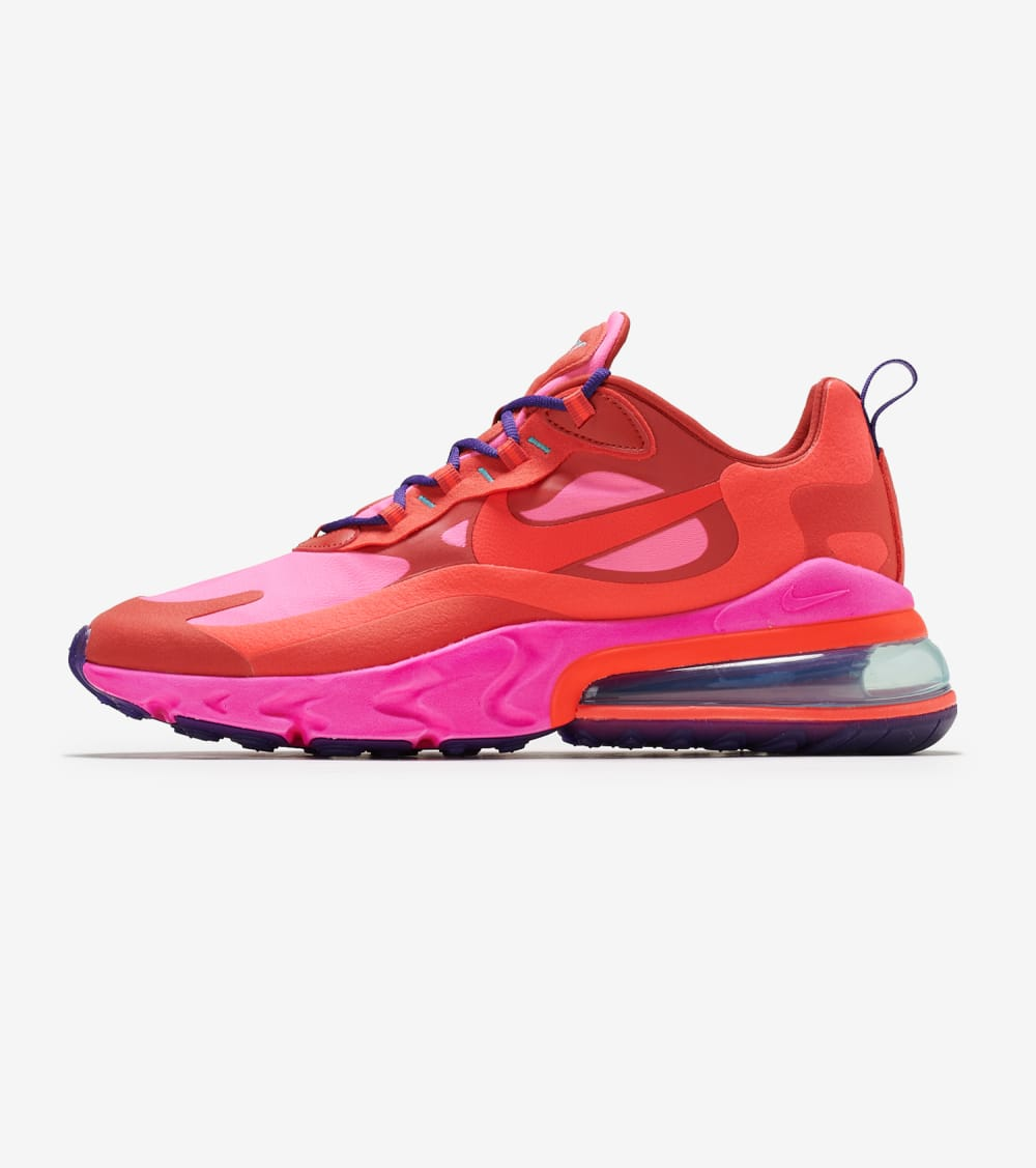 Nike Air Max 270 React Shoes in Red