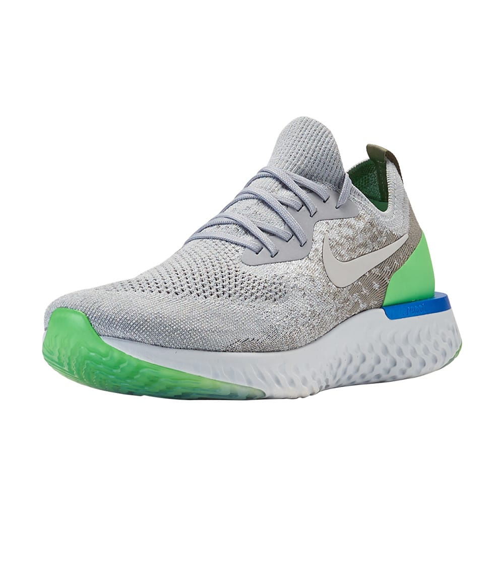 Nike Epic React Flyknit Shoes in Wolf