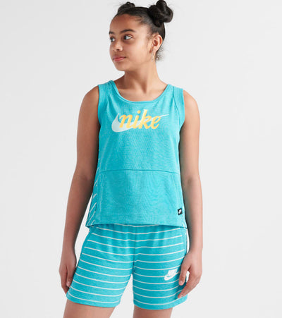 Nike  Sportswear Fleece Tank Top  Green - AQ9166-309 | Jimmy Jazz