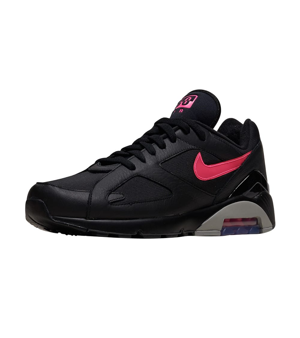 Nike Air Max 180 QS Shoes in Black/Pink