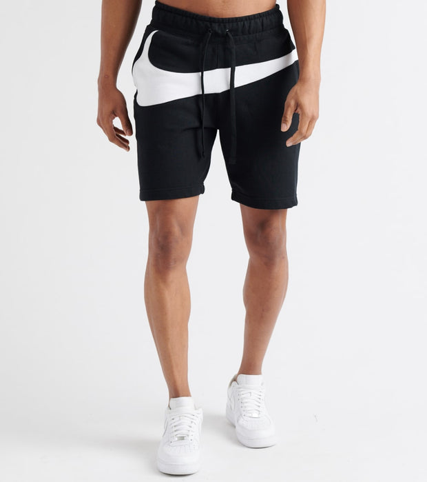 Nike  Swoosh Fleece Shorts  Black - AR3161-010 | Jimmy Jazz