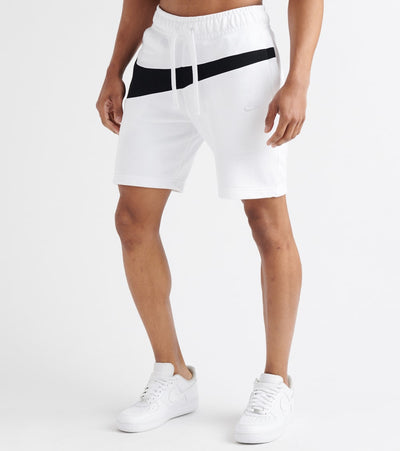Nike  Swoosh Fleece Shorts  White - AR3161-100 | Jimmy Jazz