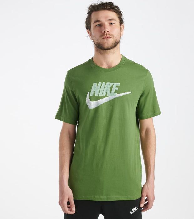 Nike  Sportswear Brand Mark Tee  Green - AR4993-326 | Jimmy Jazz