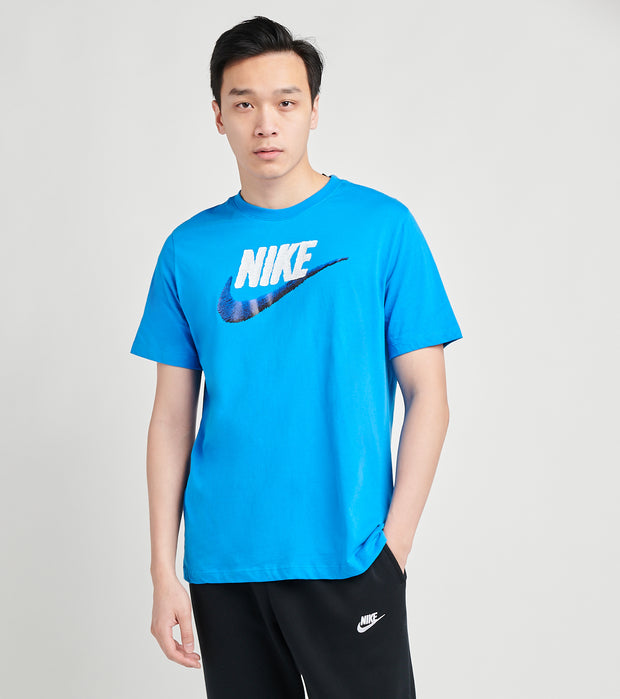 Nike  NSW Short Sleeve Brand Mark Tee  Blue - AR4993-437 | Jimmy Jazz