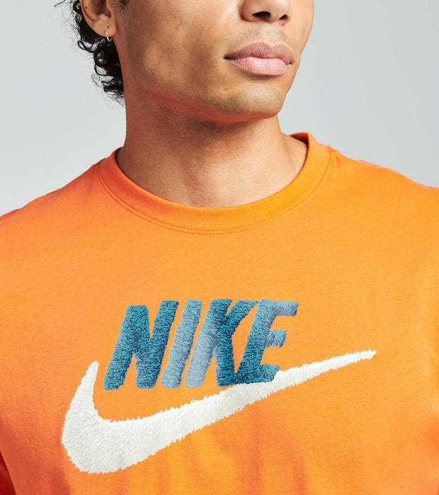 Nike  Nike Sportswear Short Sleeve Brand Tee  Orange - AR4993-837 | Jimmy Jazz