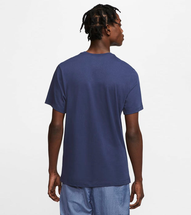 Nike  NSW Icon Futura Short Sleeve Tee  Navy - AR5004-411 | Jimmy Jazz
