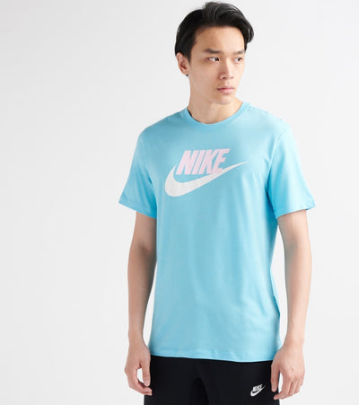 Nike  Icon Futura Tee  Blue - AR5004-496 | Jimmy Jazz