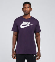Nike  NSW Icon Futura Tee  Purple - AR5004-525 | Jimmy Jazz