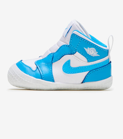 Jordan  Jordan 1 Crib Bootie UNC  White - AT3745-117 | Jimmy Jazz