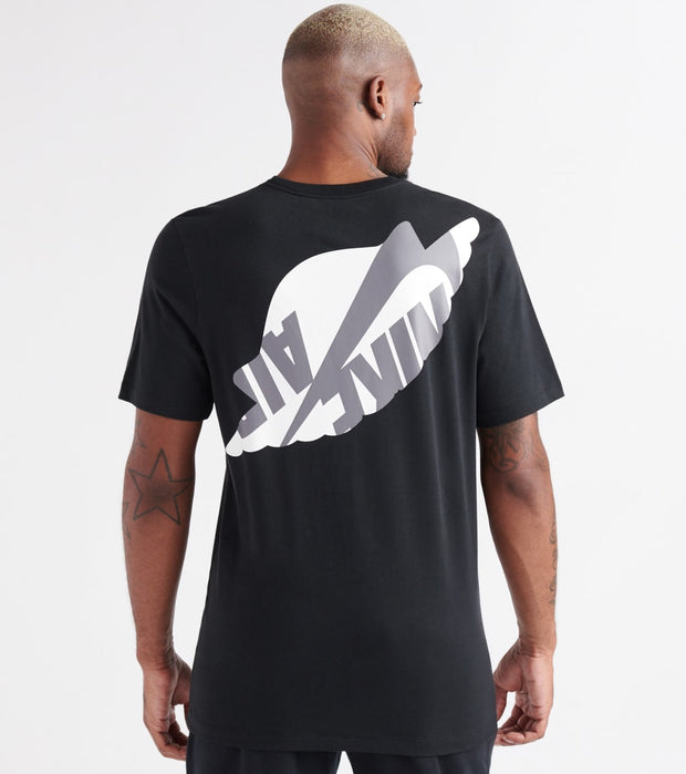 Jordan  Wings Classic SS Crew Tee  Black - AT8902-010 | Jimmy Jazz