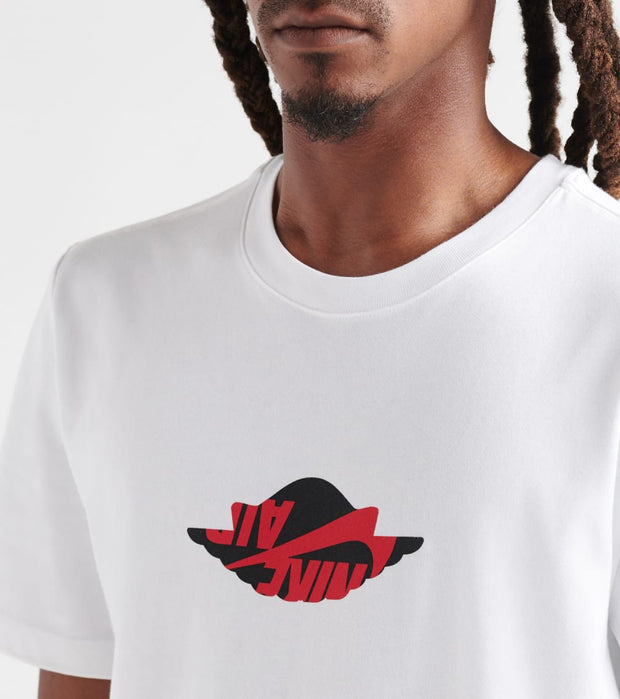 Jordan  Wings Classic SS Crew Tee  White - AT8902-100 | Jimmy Jazz