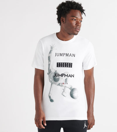 Jordan  Jumpman Photo SS Dfct Crew Tee  White - AT8925-100 | Jimmy Jazz