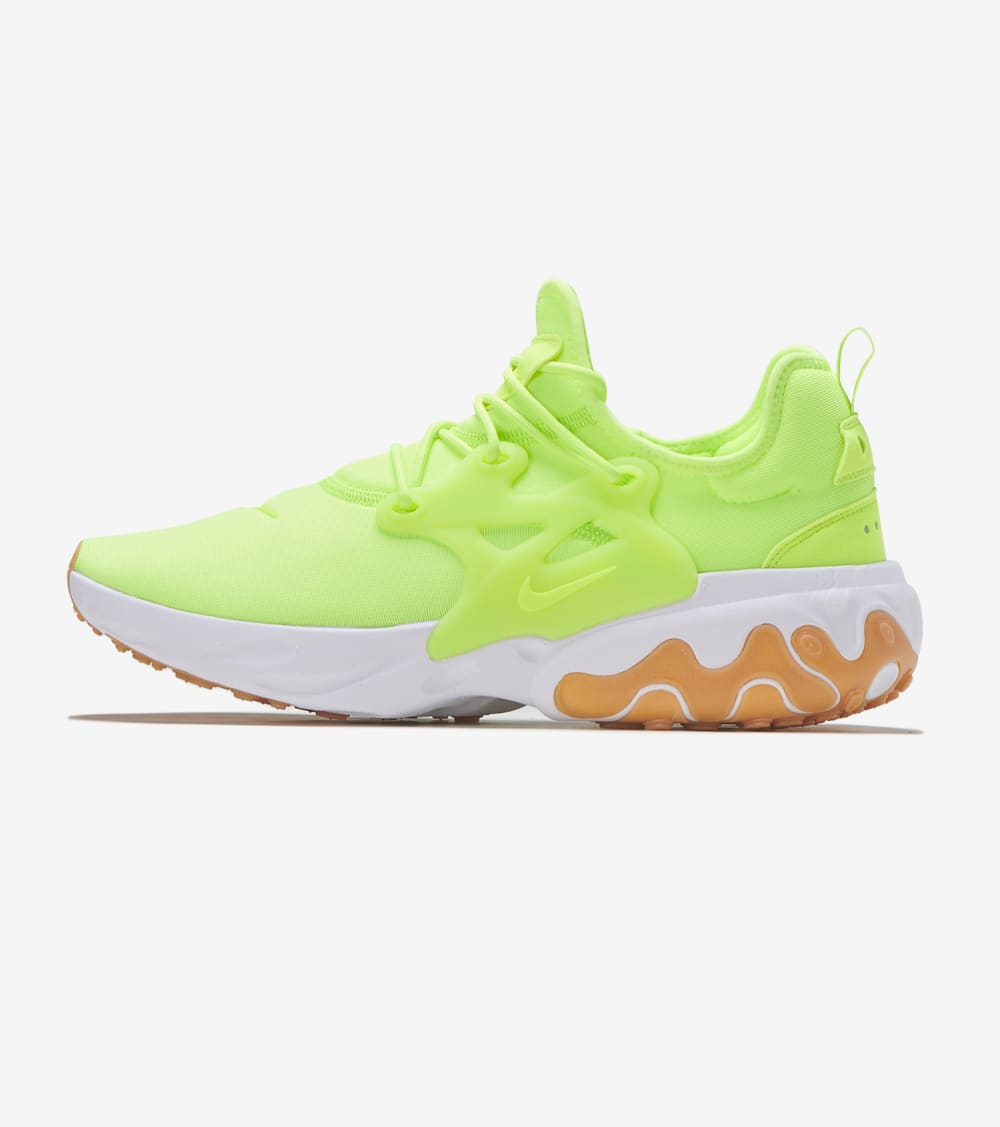 Nike React Presto Shoes in Volt/Gum Size 9 | Synthetic ...