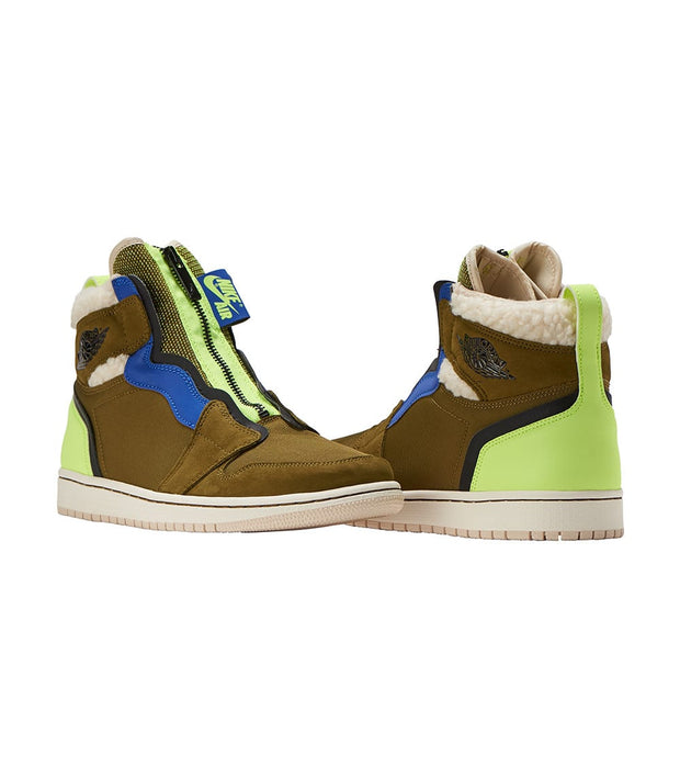 Jordan  JORDAN 1 HIGH ZIP PREM  Green - AV3723-300 | Jimmy Jazz