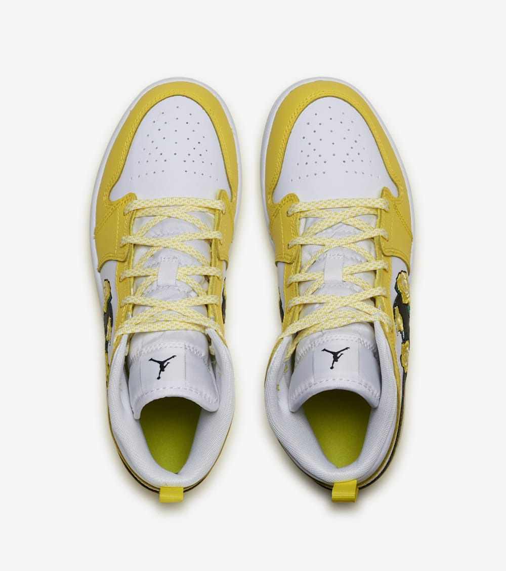 Jordan  Air Jordan 1 Mid  Yellow - AV5173-700 | Jimmy Jazz