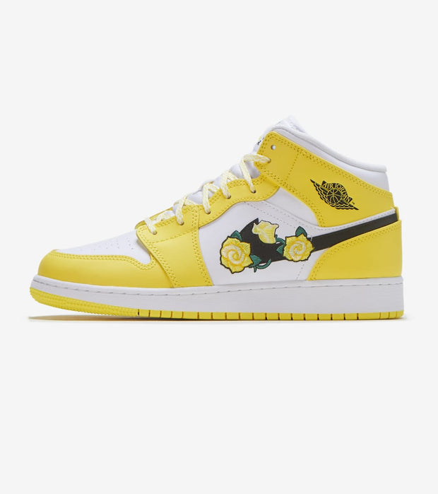 Jordan  Air Jordan 1 Mid  Yellow - AV5174-700 | Jimmy Jazz