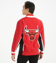 Mitchell And Ness  Bulls Authentic Warm up Jacket  Red - AWJKGS18509-RED | Jimmy Jazz