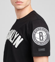 Pro Standard  Brooklyn Nets Short Sleeve Tee  Black - BBN151534-BLK | Jimmy Jazz