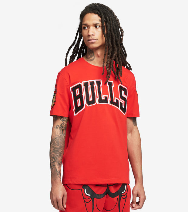 Pro Standard  Chicago Bulls Pro Tee  Red - BCB151539-RED | Jimmy Jazz