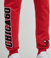 Pro Standard  Chicago Bulls Joggers  Red - BCB451538-RED | Jimmy Jazz
