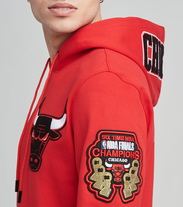 Pro Standard  Chicago Bulls Hoodie  Red - BCB551537-RED | Jimmy Jazz