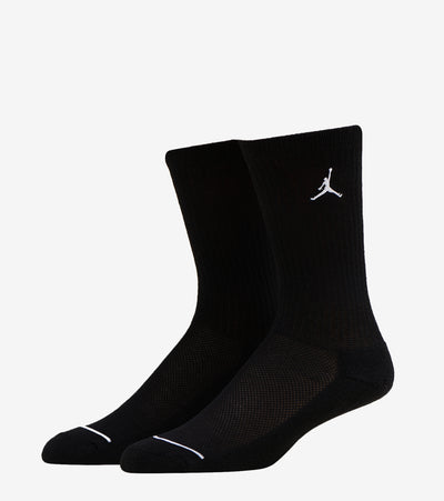 Jordan  Legend Crew Socks 6 Pack  Black - BJ0343-023 | Jimmy Jazz